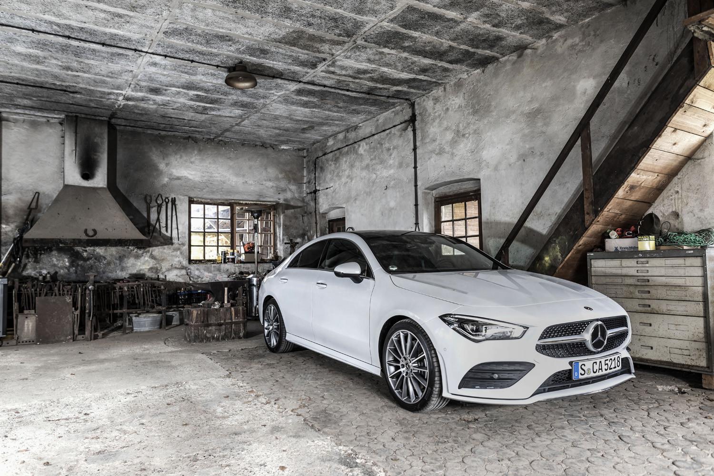 Foto de Mercedes-Benz CLA Coupé 2019, toma de contacto (95/248)