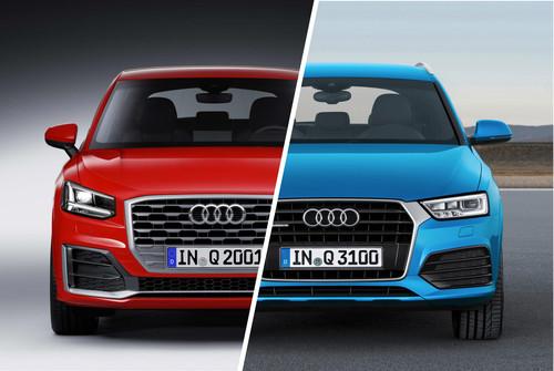 Audi Q2 vs. Audi Q3, los analizamos y nos preguntamos: ¿para qué gastar en un Q3?