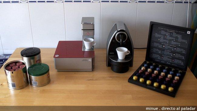 Nespresso versus iperespresso de illy m s munici n para la guerra de c psulas de caf - Cafetera illy ...