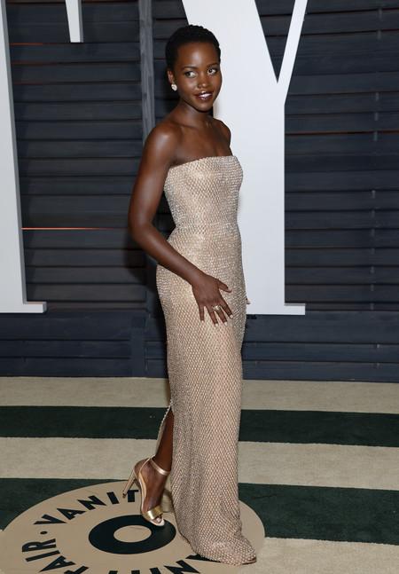 Lupita Nyongo, mucho mejor en la fiesta