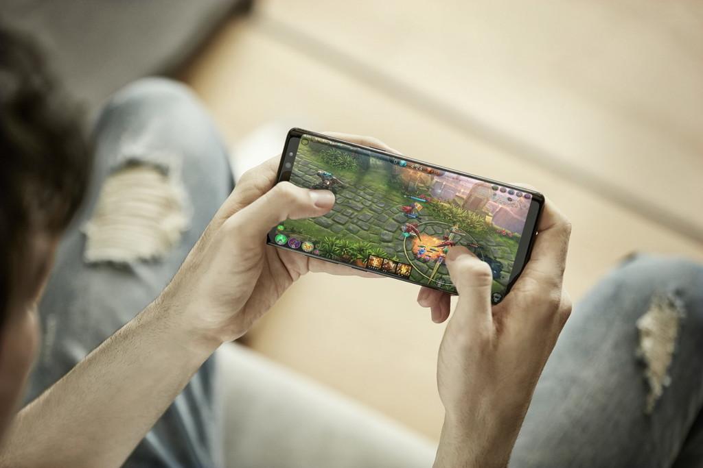 Samsung Galaxy™ Note ocho y la autonomía