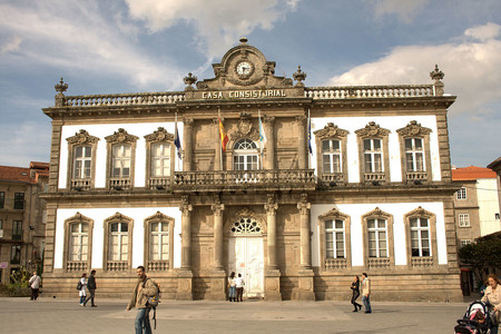 Town Hall Of Pontevedra