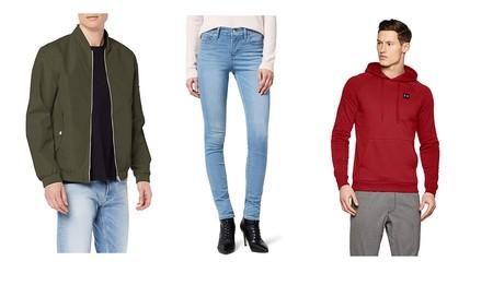 Chollos en tallas sueltas de pantalones, chaquetas y sudaderas deportivos de marcas como The North Face, Levi's o Pepe Jeans en Amazon