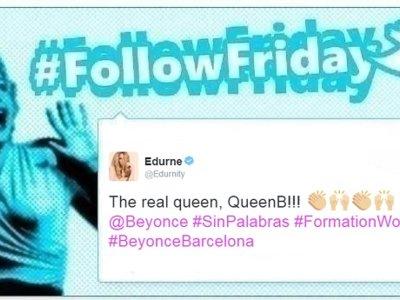 #FollowFriday de Poprosa: vacaciones de concierto con Beyoncé en Barcelona y las Velvet de boda