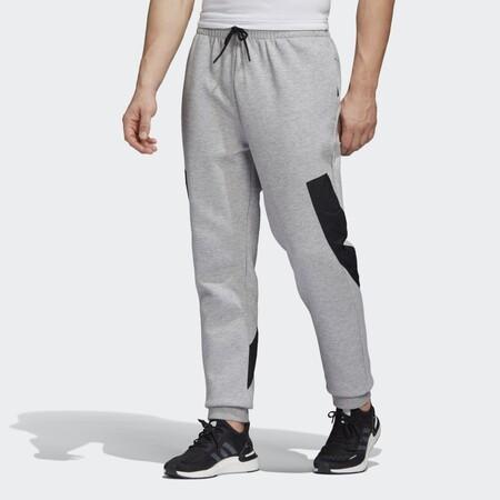 Pantalon Doubleknit Tape Gris Gh4491 21 Model