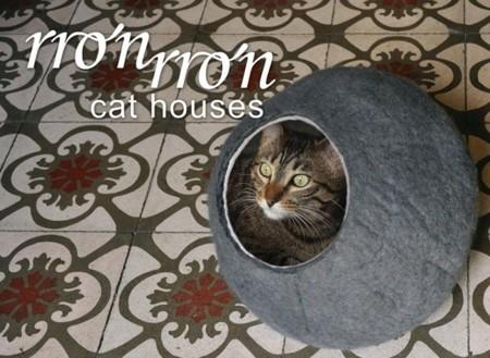 Rronrron, hogares para gatos