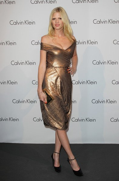 Todas las invitadas a la fiesta de Calvin Klein con Diane Kruger y Zoe Saldana brillando. Lara Stone