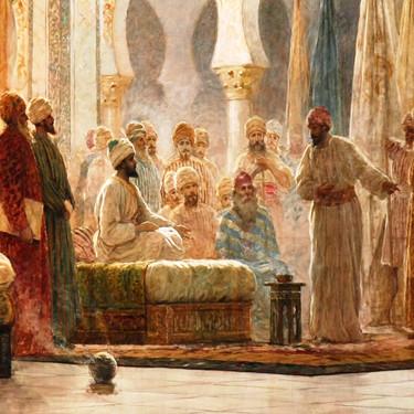Abderramán III, el califa cordobés, pelirrojo y de sangre vascona al que Vox ha retirado una estatua