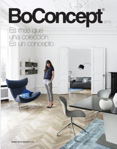 Descubrimos los secretos del catálogo de BoConcept para 2015