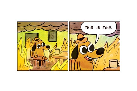 This Is Fine 0