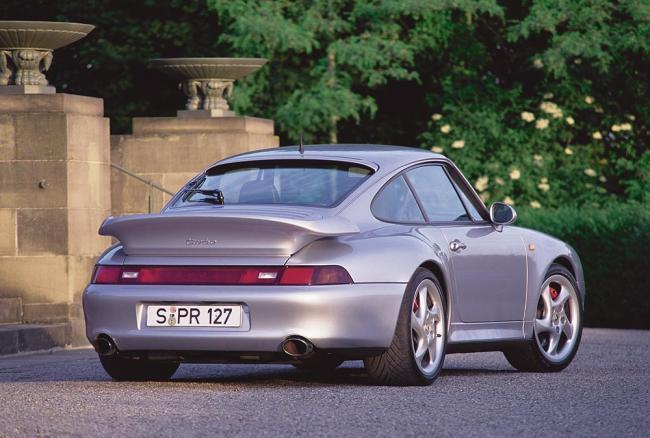 Porsche 911 Turbo 993 trasera