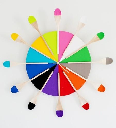 reloj multicolor cocina 2