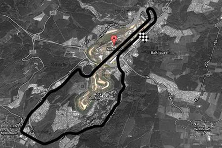 Nürburgring actual, sobre Südschleife