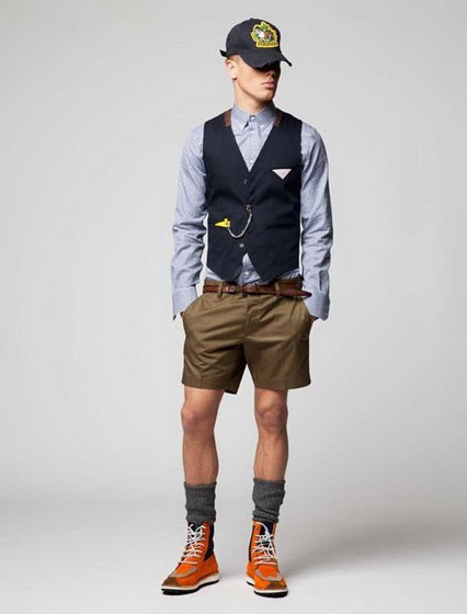 Lookbook resort 2012 de Dsquared2