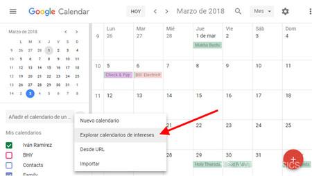 Calendariointereses