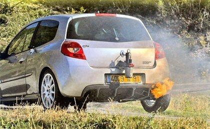 Fotos espías del Renault Clio R3 Rally Edition