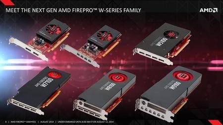 AMD introduce tarjetas FirePro para todos los niveles, 'Tonga' llega a profesionales