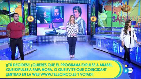 Rafa Mora Carlota Corredera Y Anabel Pantoja En Salvame