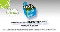 Google y Samsung celebrarán un evento el 11 de octubre para presentar novedades: ¿Llega Android Ice Cream Sandwich?