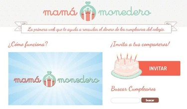 Mamamonedero: una web que te ayuda a recaudar el dinero de los cumples del cole