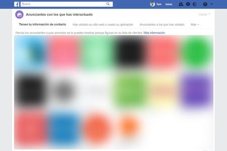 Facebook Anunciantes Publicidad Datos Privacidad