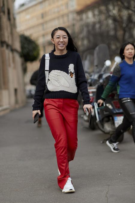 Como Combinar Un Pantalon Rojo Para Triunfar Con Tu Look