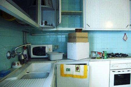Una mudanza en la cocina