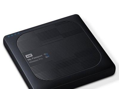 Disco duro externo inalámbrico WD My Passport Wireless Pro, con 4TB de capacidad, por 209,99 euros