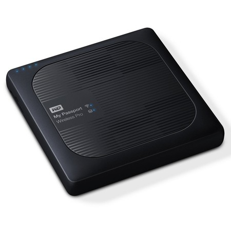 Disco duro externo inalámbrico WD My Passport Wireless Pro, con 4TB de capacidad, por 209,99 euros