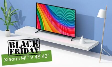 """Esta Smart TV 4K de 43"""" de Xiaomi, con 89 euros de descuento, es la oferta de última hora del Black Friday que no te puedes perder"""