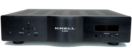 Krell estrena amplificador HiFi estéreo, es el K-300i y llega con potencias de hasta 300 vatios
