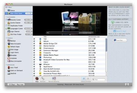 MacKeeper, otro programa encargado de limpiar y ordenar nuestro Mac