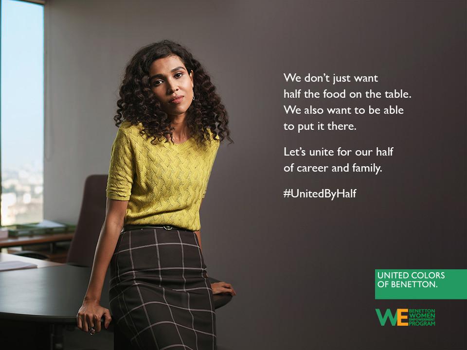 Foto de Hoy es Día Internacional de la Mujer y Benetton lucha por la igualdad entre hombres y mujeres (12/19)