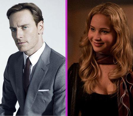 Jennifer Lawrence quiere poner sus zarpas en Michael Fassbender: ¡a la cola, mona!