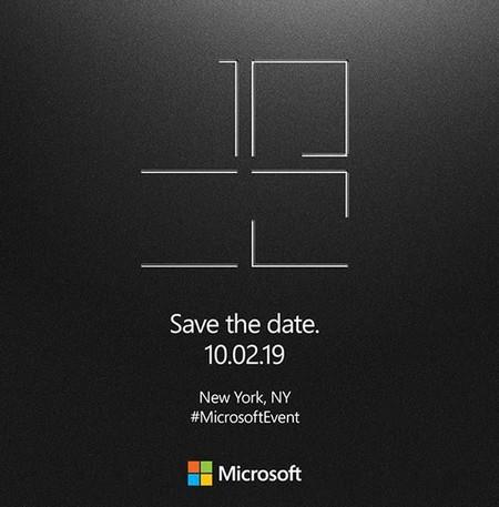 Microsoft Event Oct 2