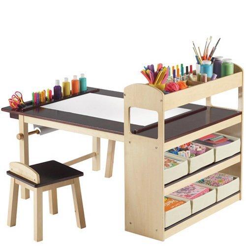 Una mesa para peque os artistas - Mesas para ninos pequenos ...