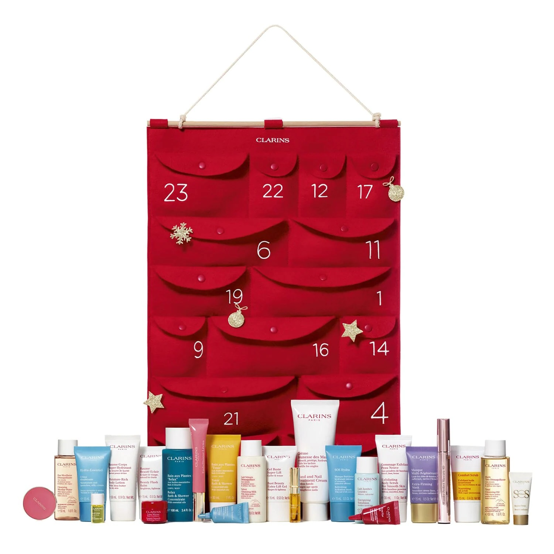 Calendario de tela reutilizable de Clarins