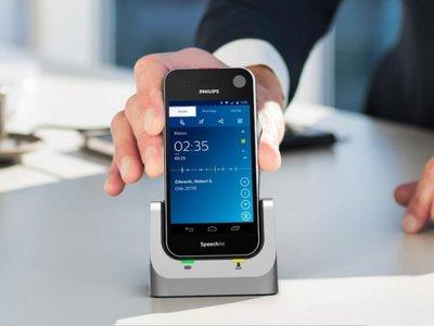 Phillips SpeechAir, así es una grabadora de voz inteligente sobre Android