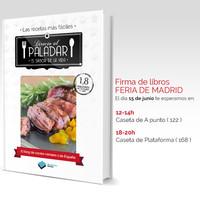 El domingo estaremos firmando ejemplares de nuestro libro en la Feria del Libro de Madrid