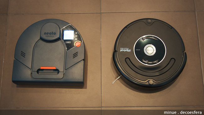 Comparativa Neato Roomba - 1