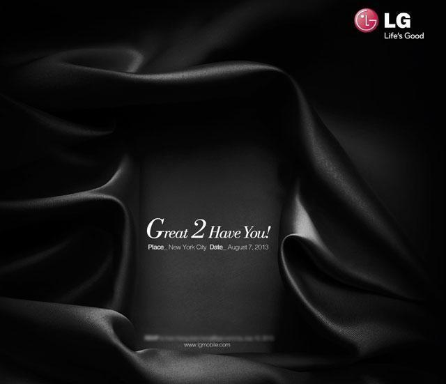 LG G2 Save the date