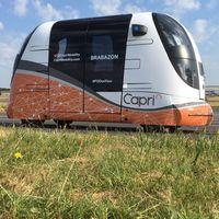 Los 'pods' autónomos del proyecto CAPRI ya están en marcha en el Reino Unido para plantear otra forma de ir de compras
