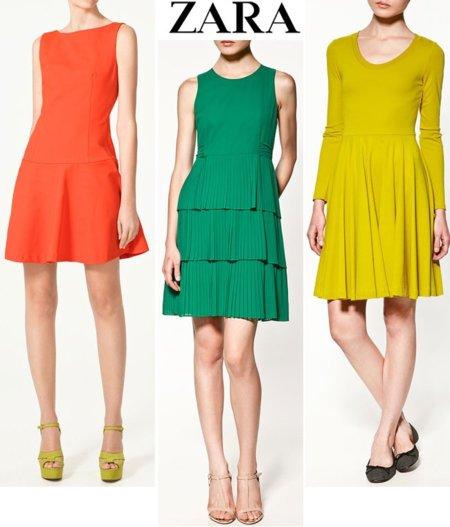 Zara shopping vestido