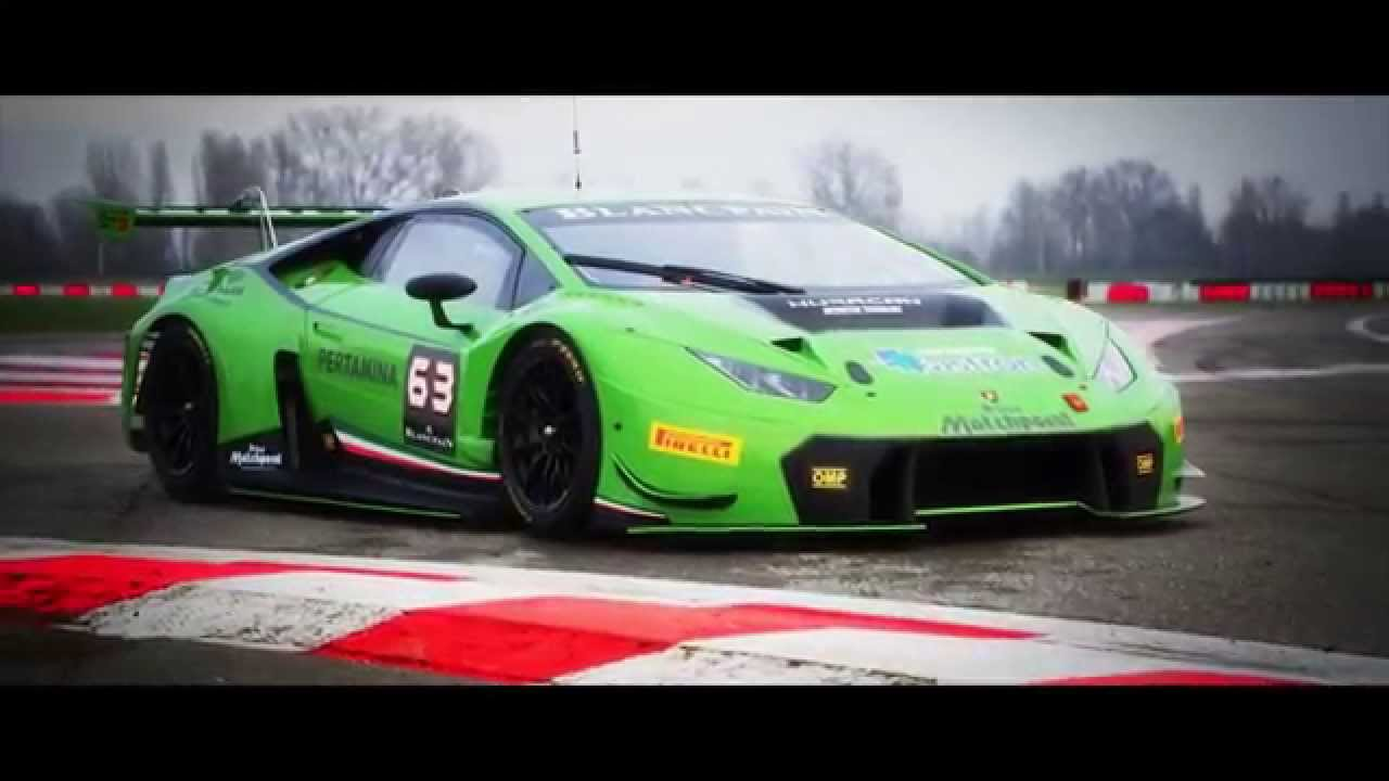 el deslumbrante lamborghini huracan gt3 ahora en video. Black Bedroom Furniture Sets. Home Design Ideas