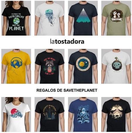 Camisetas Save The Planet con un 22% de descuento en La Tostadora utilizando este cupón