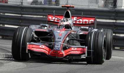 Exhibición de Alonso y McLaren en Mónaco