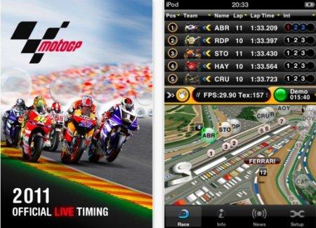 MotoGP iOS app