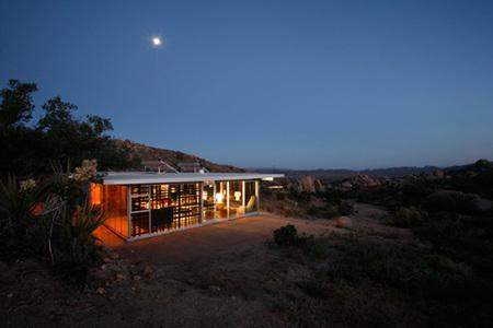 Casas poco convencionales: vivir en el desierto