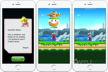 Pantallas Super Mario Run Ios
