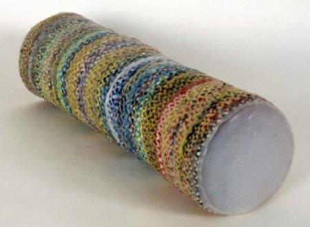 Recicladecoración: jarrones hechos con bolsas de plástico
